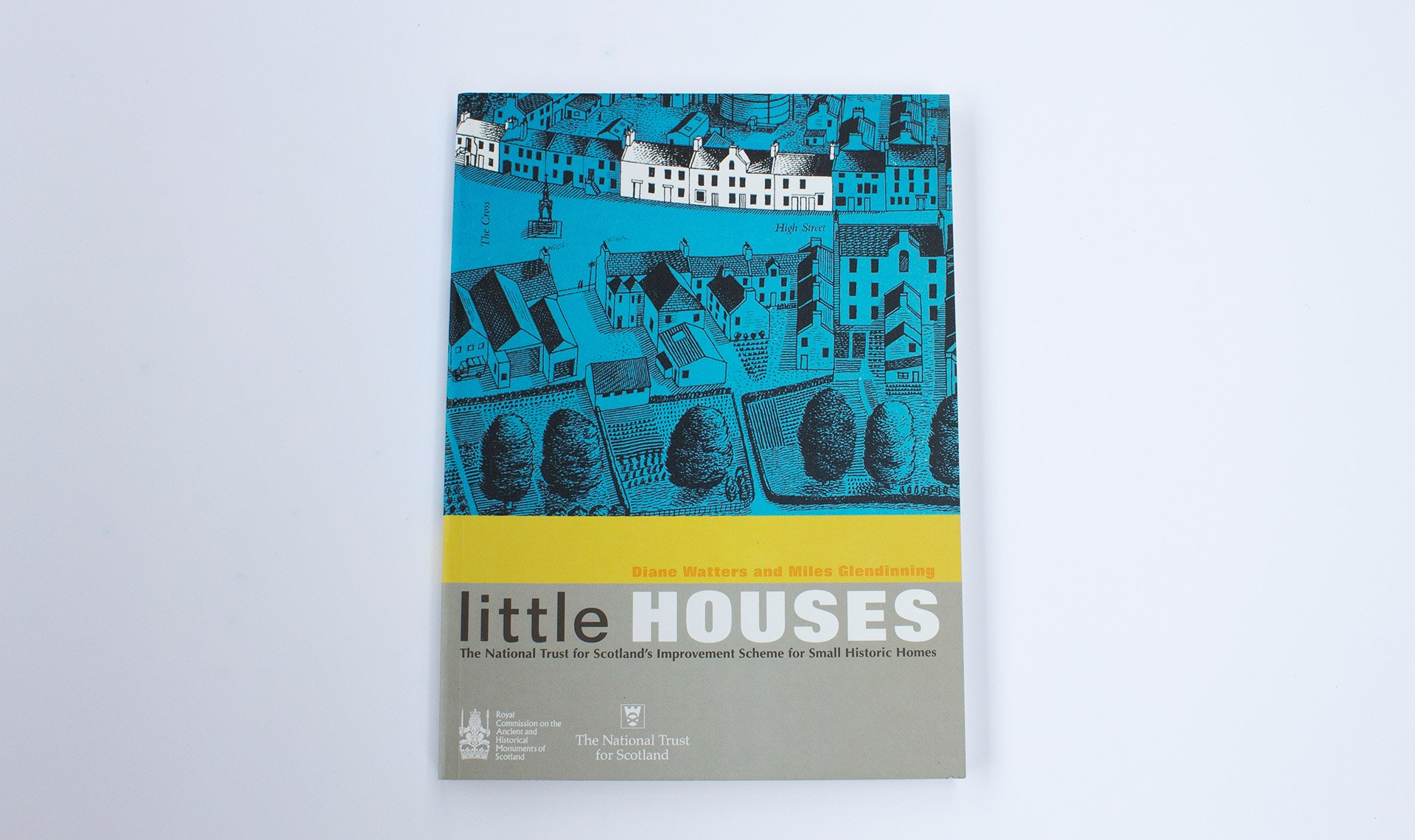 Little houses book cover design