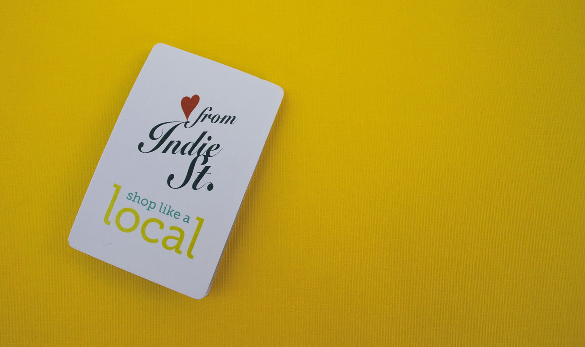 Love from Indie Street pocket map