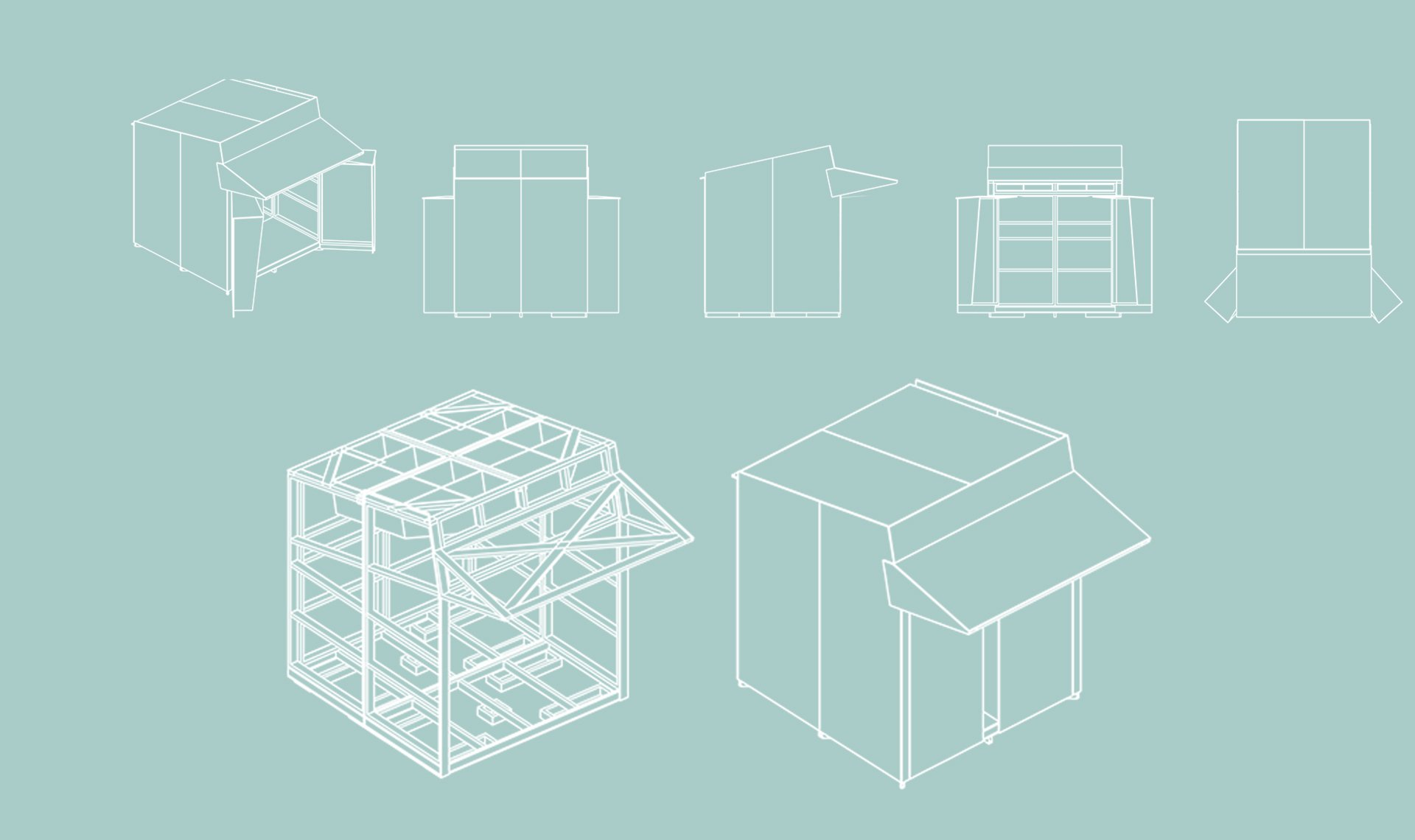 BoxSmall designs for boxes that loom like little birds