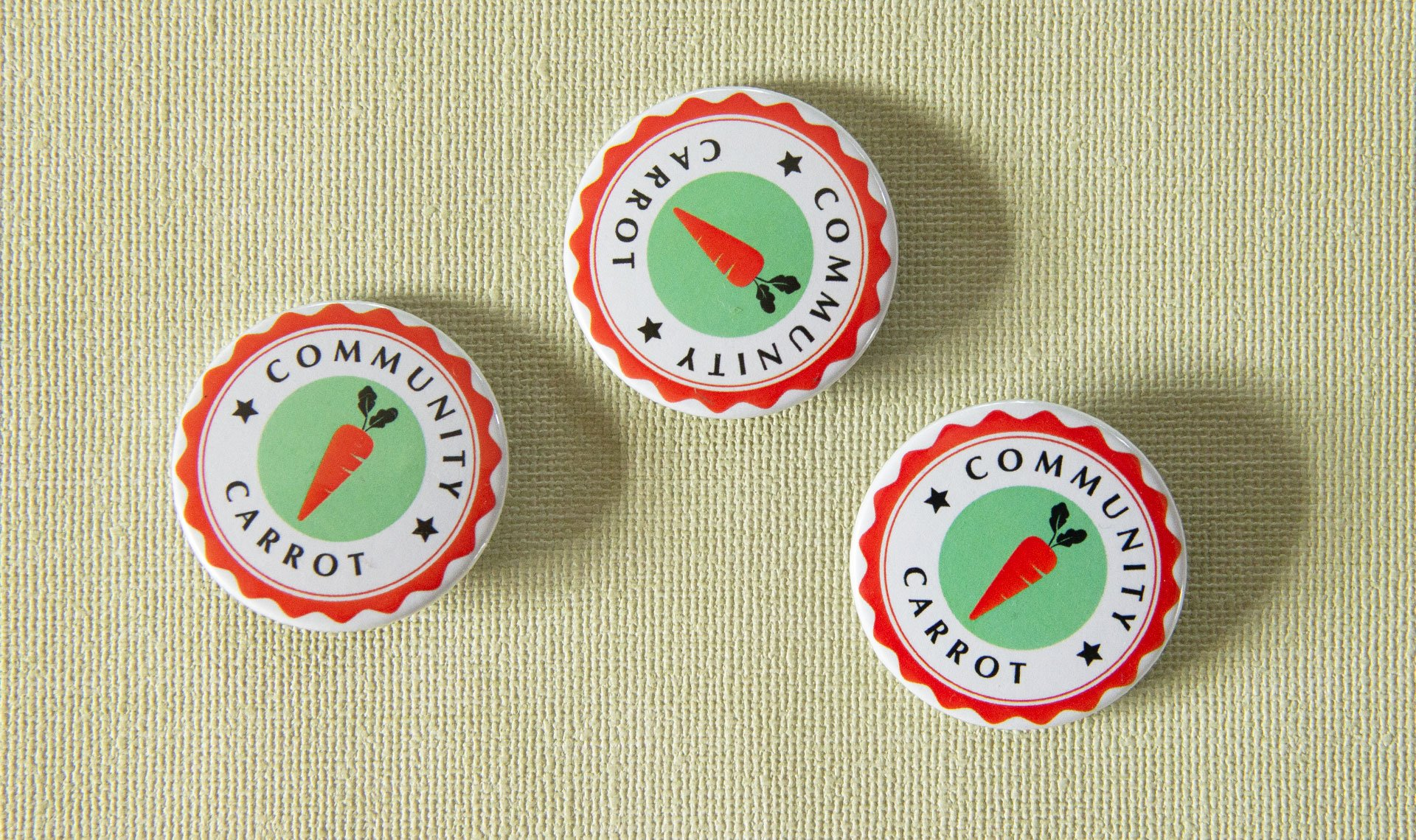 Community Carrot badges