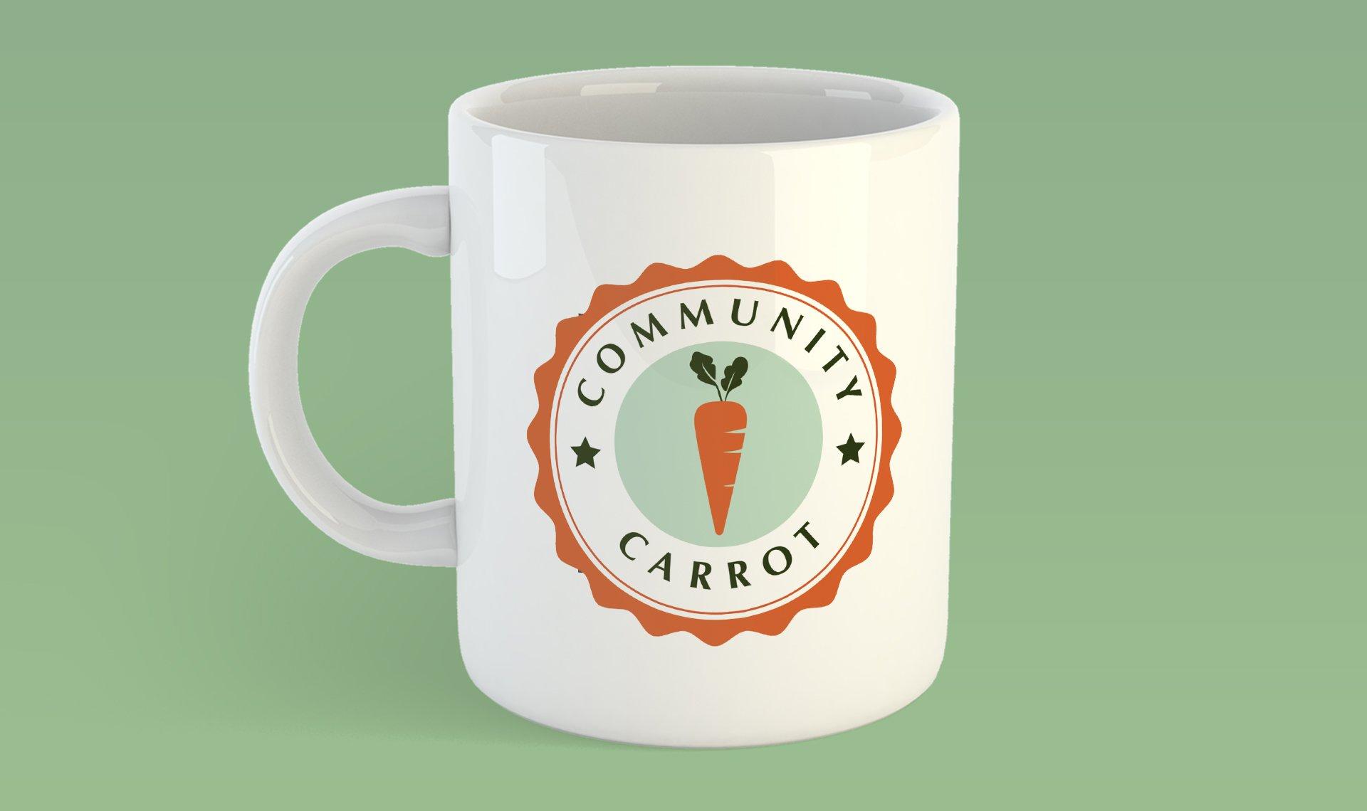 Community Carrot mug