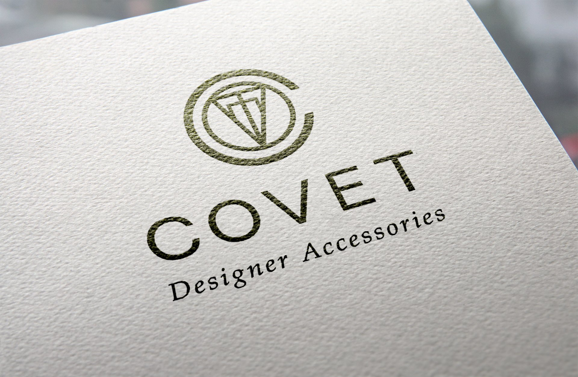 Covet logo for letterhead